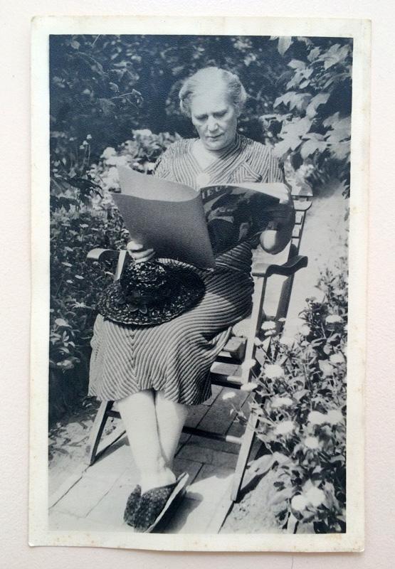 Uroma Anna - Sommer 1947 / 64 Jahre