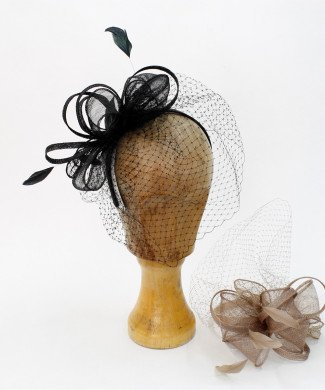 Fascinator Netz Lotte
