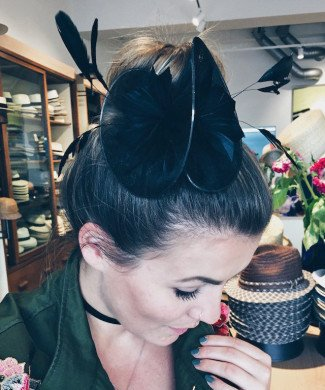Fascinator Organza Twist | Bloggerin | Impulsee | Dajana Eder
