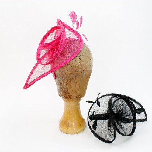 Fascinator Sinamay Sandra