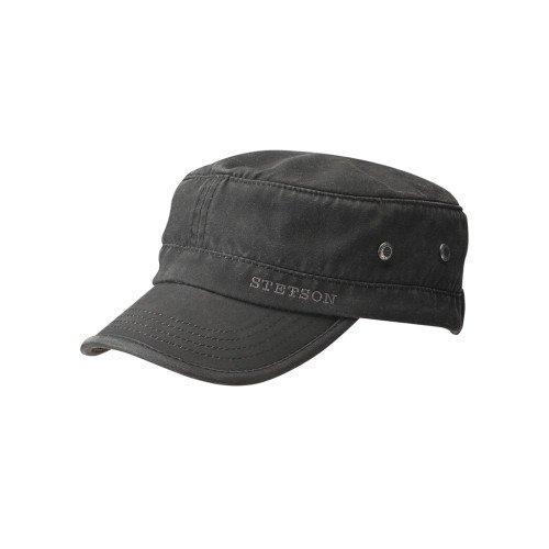Stetson Army Cap Datto - Schwarz