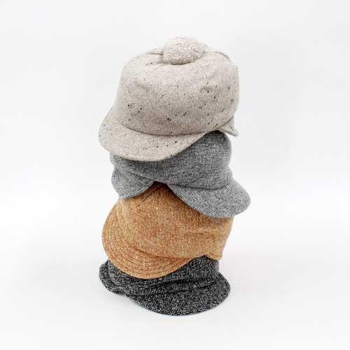Schirmmütze Wolle mit Fleece