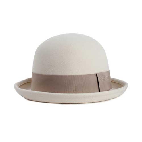 Brixton Pack Hat - Wollweiß