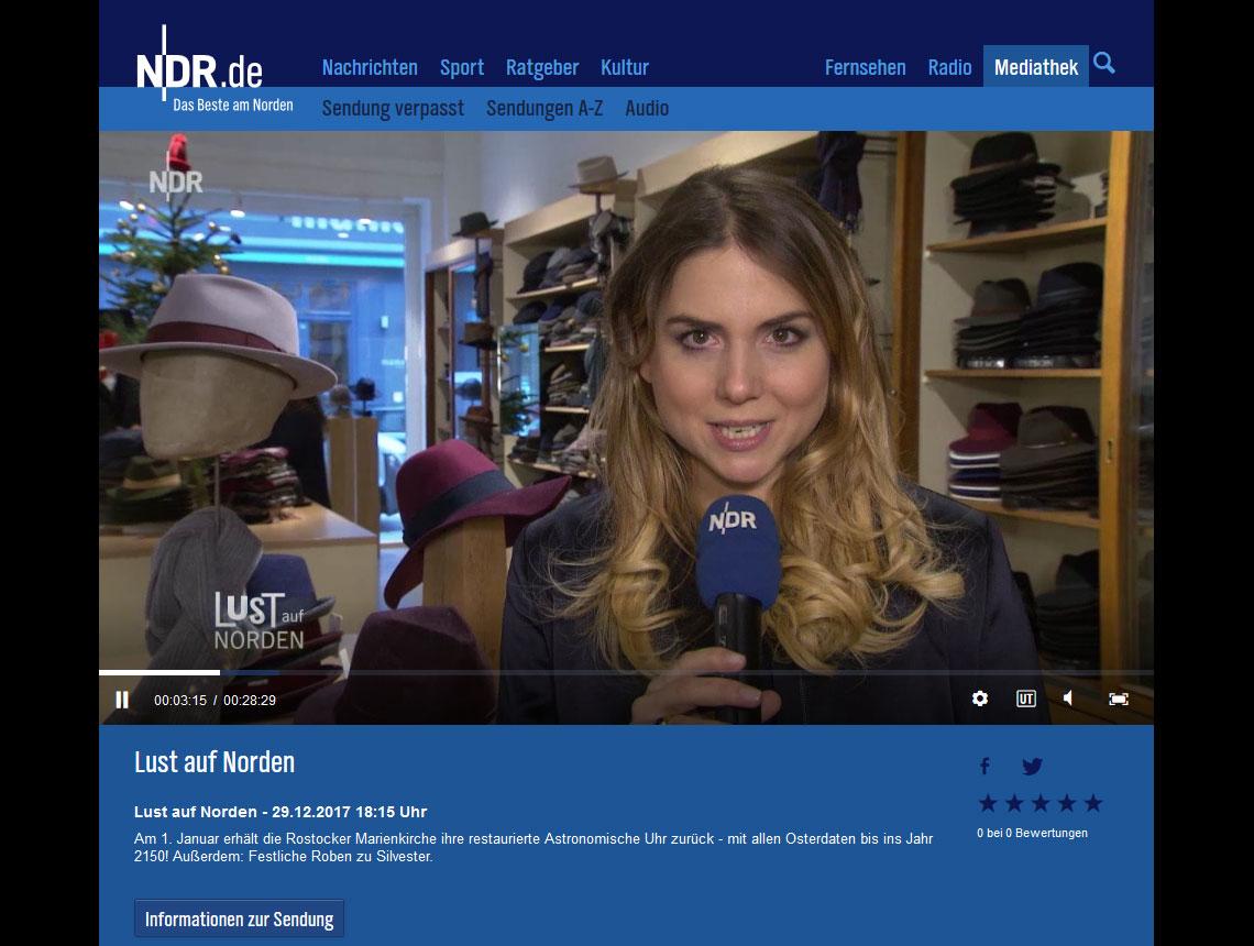 NDR.de: Lust auf Norden