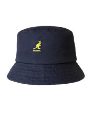 Kangol Washed Bucker Hat - Blau
